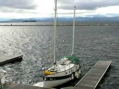 Boat on the Waves, Lake Champlain, Burlington, Vermont
