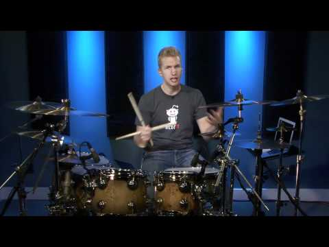Single Paradiddle 16th Note Triplets - Advanced Drum Lessons