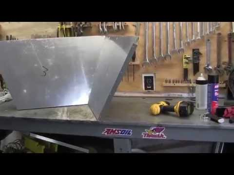 heavens flame solar oven reflector part 1
