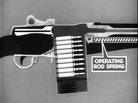 U.S. Rifle, Cal. 7.62MM M-14 Operation And Cycle Of Functioning (1960)