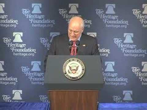 Vice President Cheney on Reagan's Vision for Missile Defense
