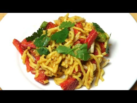 Satay Noodle Salad - RECIPE