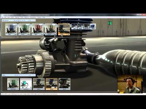Autodesk Showcase 2011 workflow and new feature video