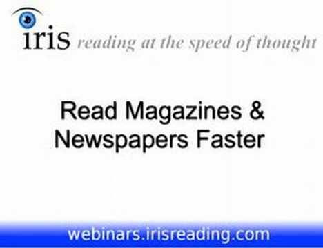 Speed Reading Tutorial (8/8) - Comprehensive Classes