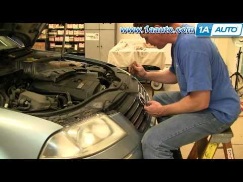 How To Install Replace Headlight and Bulb Volkswagen Passat 02-05 1AAuto.com