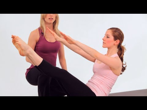 Beginner Pilates Mat Exercises: Teaser 1