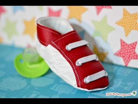 How To Sew Baby Sneaks