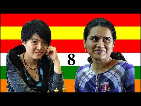 2011 Women's World Chess Championship: Humpy Koneru vs. Hou Yifan - Game 8