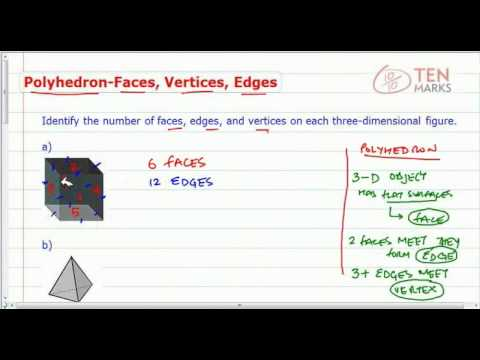 Polyhedron - Faces, Vertices, and Edges