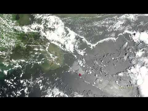 NASA Looks Back at Gulf Oil Spill