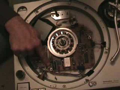 How to fix replace Technics SL1200 tone arm Part 2