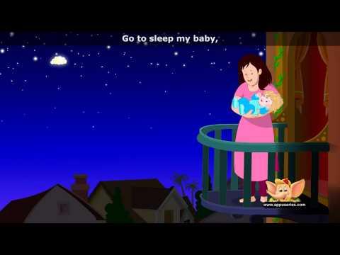Go to Sleep my Baby - Nursery Rhyme with Lyrics