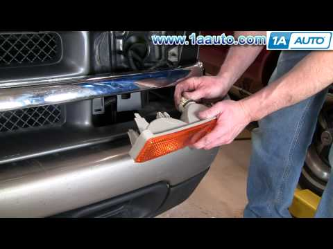 How To Install Replace Radiator Grille Chevy S10 Pickup 98-04 1AAuto.com