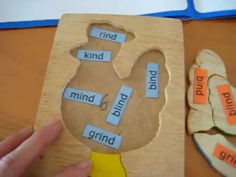 Preschool - Reading. Puzzle game