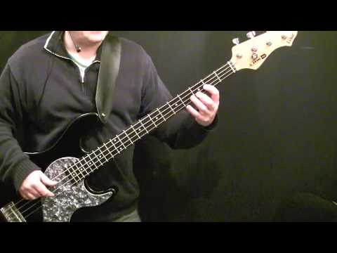 How To Play Bass to I Can't Stand Up 2- Beginners Lesson