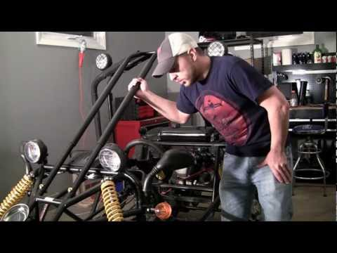How to Build a Go Kart - 32 - Finishing the Roll Bars