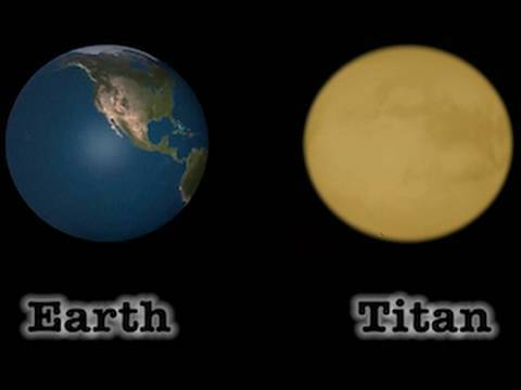Earth & Titan