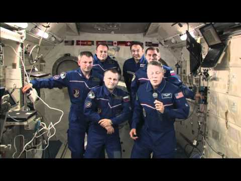 NASA's Fossum Given ISS Command