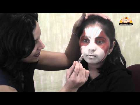 Face Painting - Paint a Dog