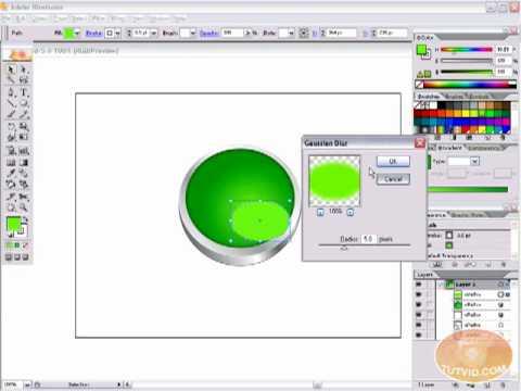 Vector Metal Icon Buttons: Illustrator Tutorial!