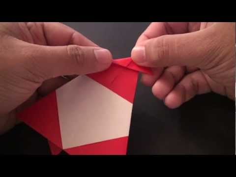 Origami Daily - 080: Santa Clause Ver. 2 - TCGames [HD]