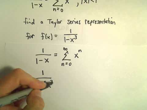 Finding Power Series Representations by Manipulating 1/(1-x) - Another Ex 1