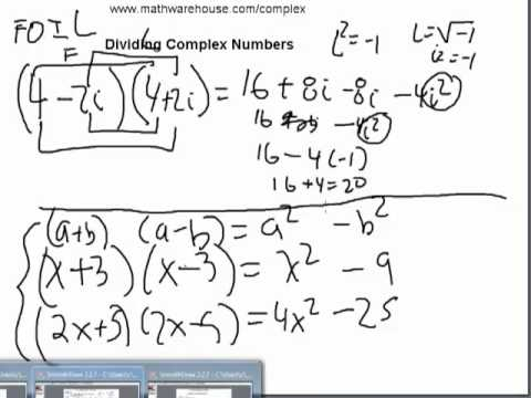 How To Divide Complex Numbers