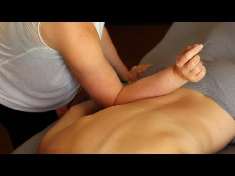 How to Massage using Your Forearm | Deep Tissue Massage Techniques