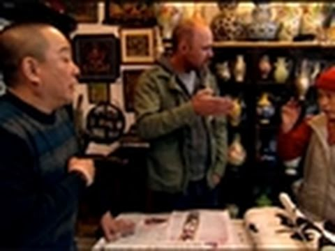 An Idiot Abroad- Karl Loves Calligraphy