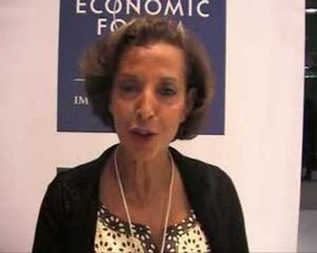 Middle East World Economic Forum 2008 - Raghida Dergham
