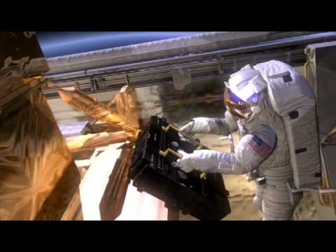 Hubble Repair Mission 4, Battery Replacement, HD