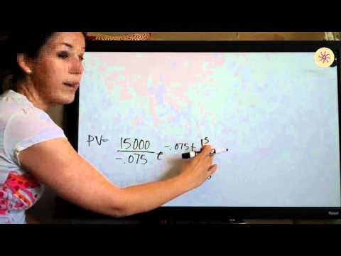 Present and Future Value Example 5