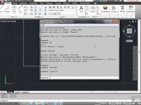AutoCAd 2012 Using Function Keys And Command Aliases - Tutorial