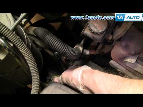 How To Install Replace Pitman Arm Chevy GMC Truck Tahoe Yukon Suburban 88-98 Part 1 1AAuto.com