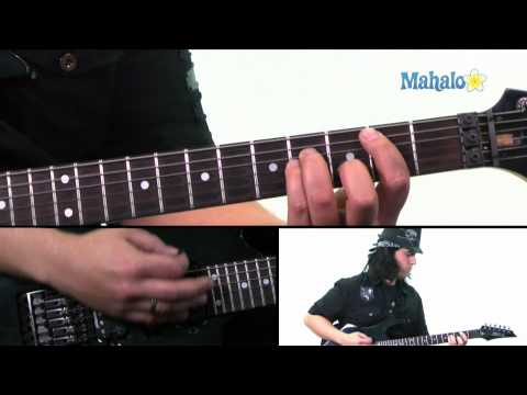 "How to Play ""Hybrid Moments"" by The Misfits on Guitar (Practice Cover)"