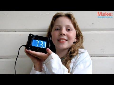Build the Monochron Clock Kit