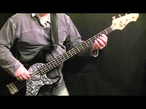 How To Play Bass Guitar To Jackson Cage - Bruce Springsteen - Garry Tallent