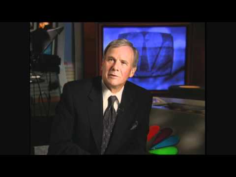 Tom Brokaw - Be emotional, but under control