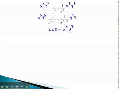 Compound Fractions - Monomials