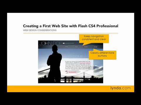 Flash Professional: Web design considerations | lynda.com