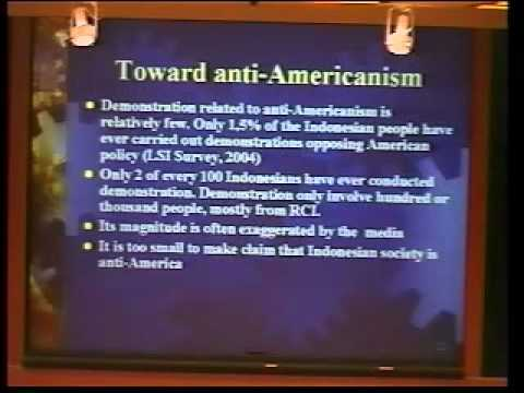 Islam and Indonesian Attitudes Towards the U.S.