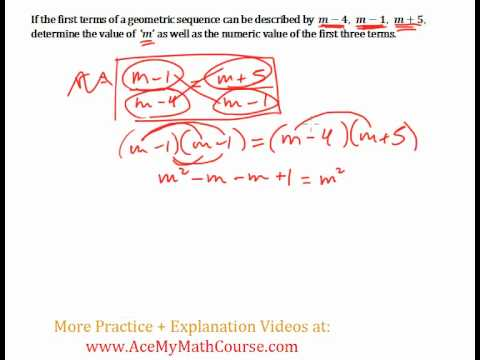 Geometric Sequences - Intermediate Problem #4