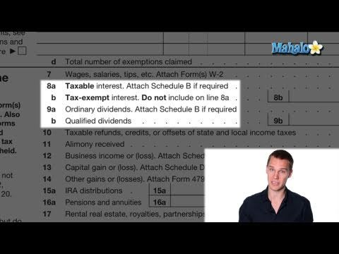 How to File Your Taxes - Income part 3 of 10