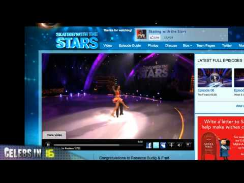 Michelle Ryan Foot Fetish / Rebecca Budig wins skating with the stars / Antoine Dodson new song