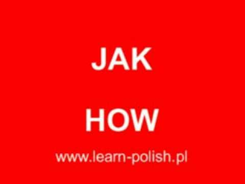 Who, What, Where, When, Why in Polish language