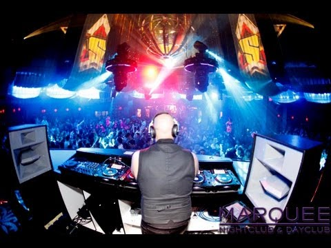 Best Club in Las Vegas Marquee Nightclub Poolside Armin Van Burrin