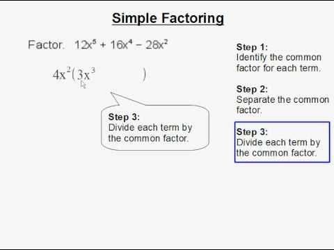 Simple Factoring