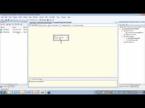 SSIS Intro to Variables and Expressions