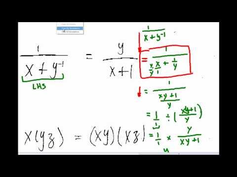 Common Algebra Errors Part 5