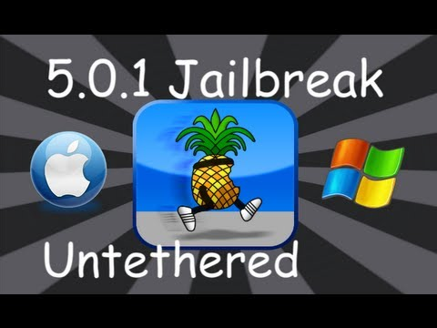 Jailbreak 5.0.1 Public For iPhone 4, 3Gs, iPod Touch 4, 3 & iPad